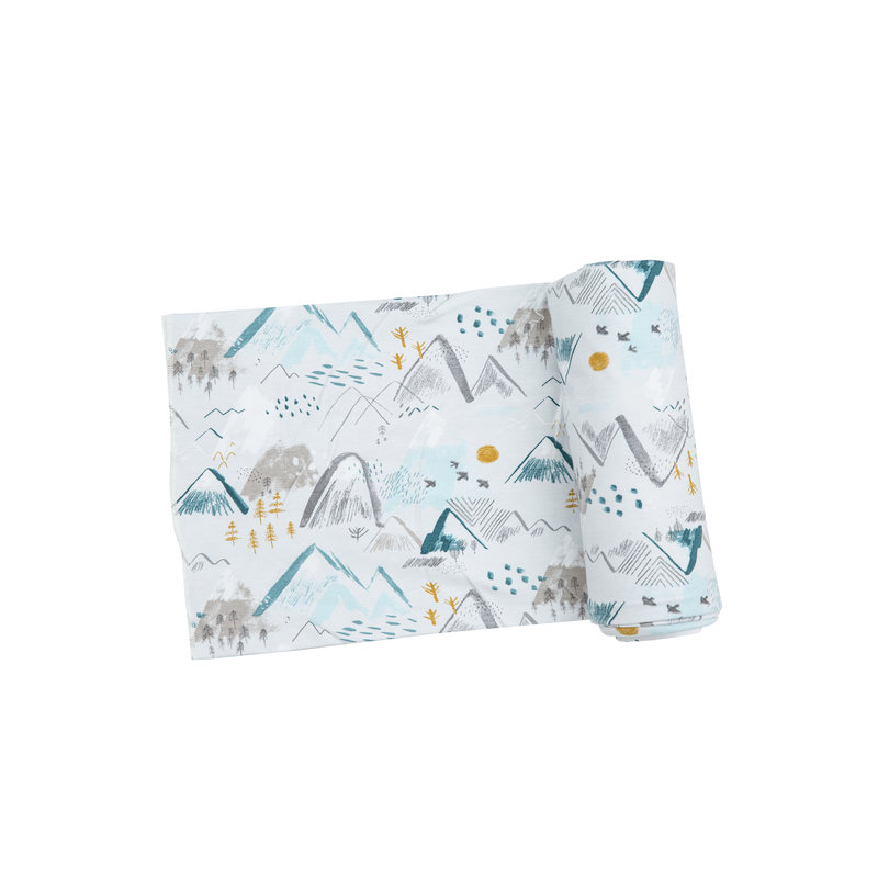 Angel Dear Angel Dear Mountains Swaddle Blanket