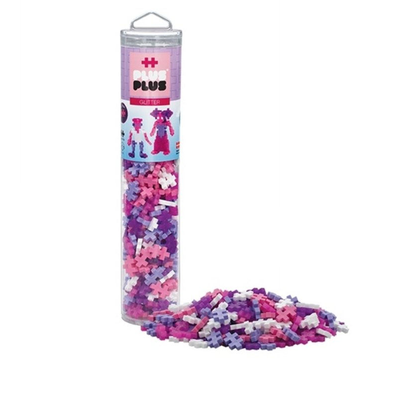 Plus-Plus USA Plus-Plus 240 pc Tube- Glitter Mix