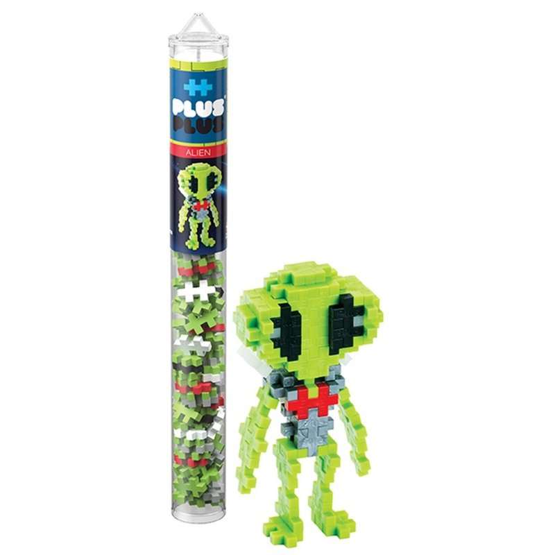 Plus-Plus USA Plus-Plus Tube- Alien