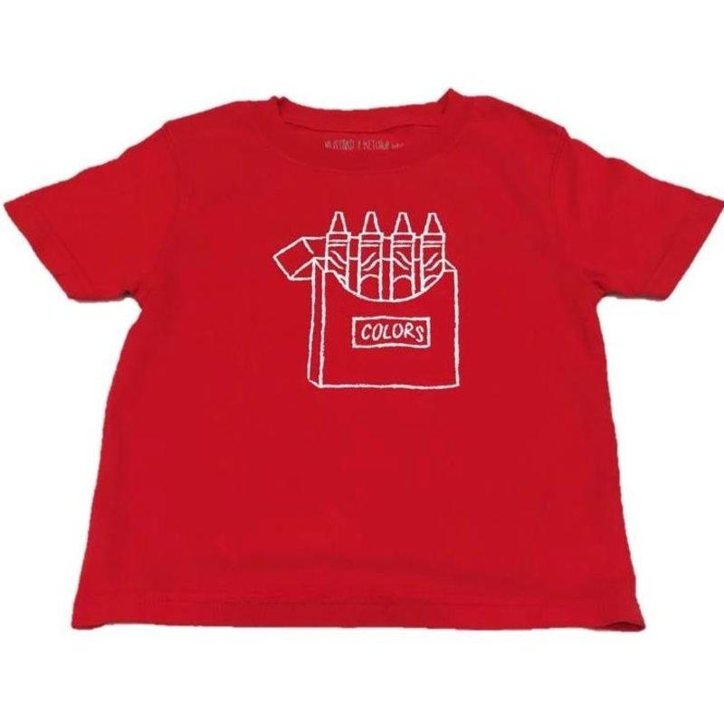 Mustard & Ketchup Mustard & Ketchup Red Crayons T-Shirt