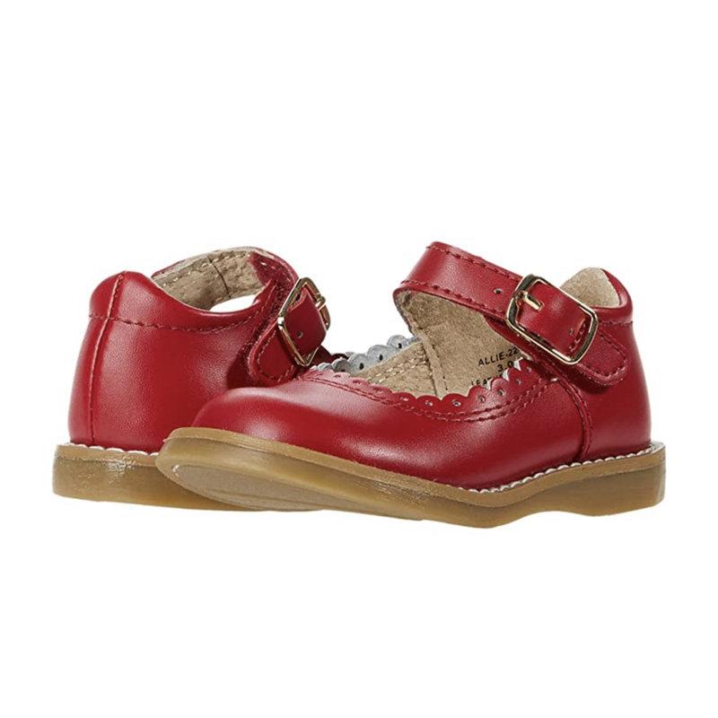 Footmates Footmates Allie Apple Red