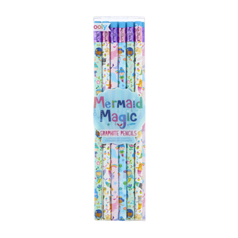Ooly Ooly Mermaid Magic Graphite Pencils- Set of 12