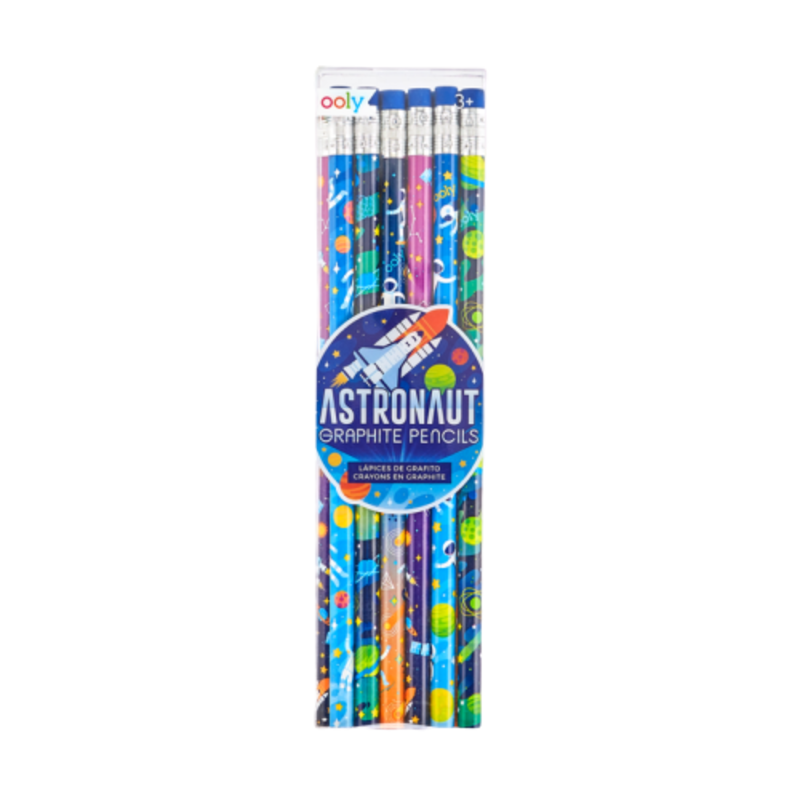 Ooly Ooly Astronaut Graphite Pencils- Set of 12