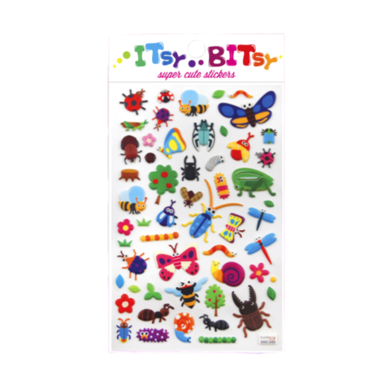 Ooly Ooly Itsy Bitsy: Bug Life Stickers- 1 Sheet