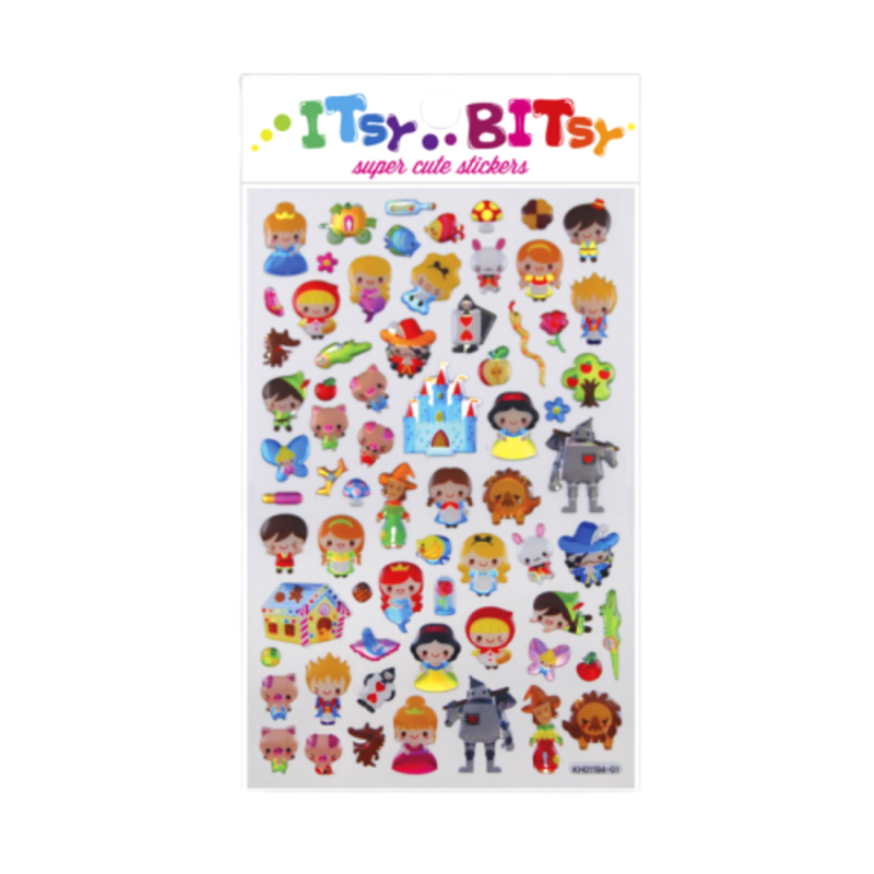 Ooly Ooly Itsy Bitsy: Fairy Tale Stickers- 1 Sheet