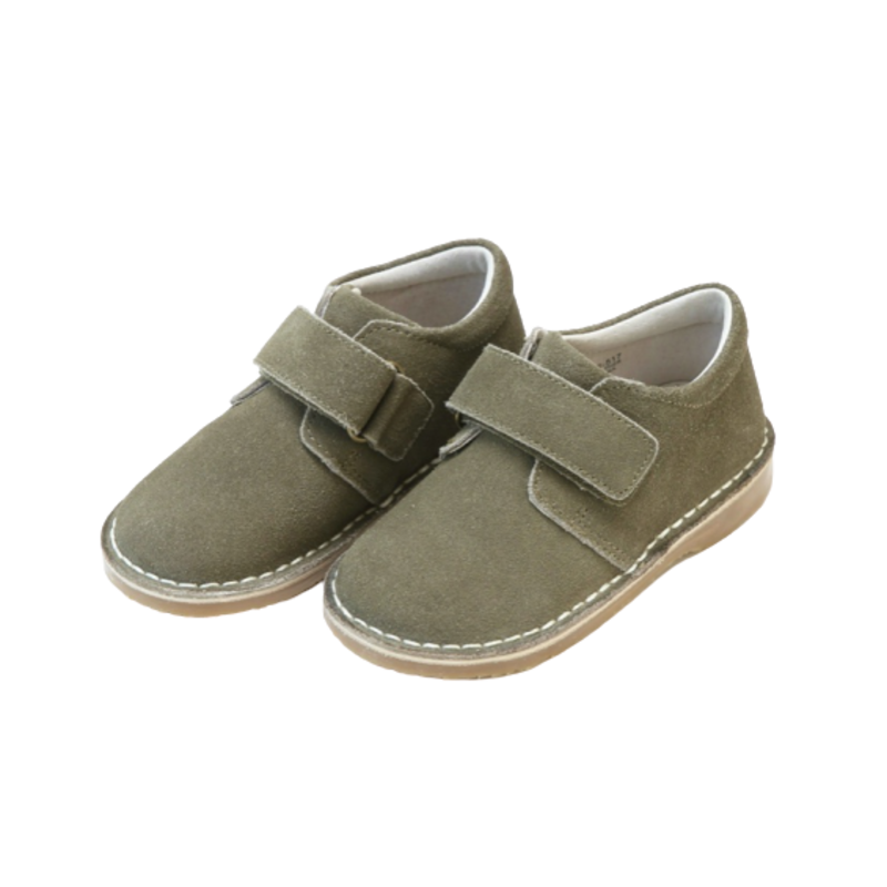 L'Amour L'Amour Oliver Stitch Down Velcro Boot- Olive Green