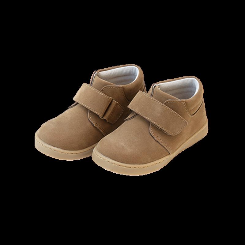 L'Amour L'Amour Parker Velcro Boot- Nubuck Brown