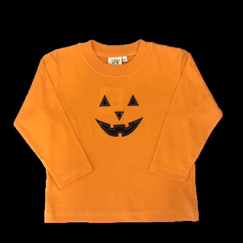 Luigi Luigi Orange Jack-O-Lantern T-Shirt