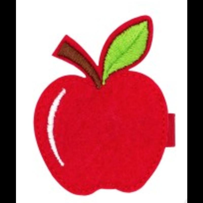 Wee Ones Bows Wee Ones Apple Hair Clip