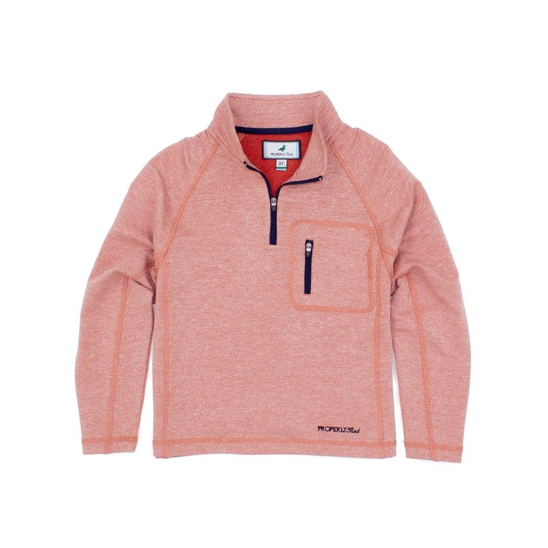 Properly Tied Properly Tied Bay Pullover Clay