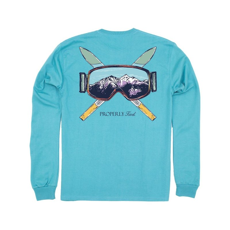 Properly Tied Properly Tied Ski Mountain LS Emerald