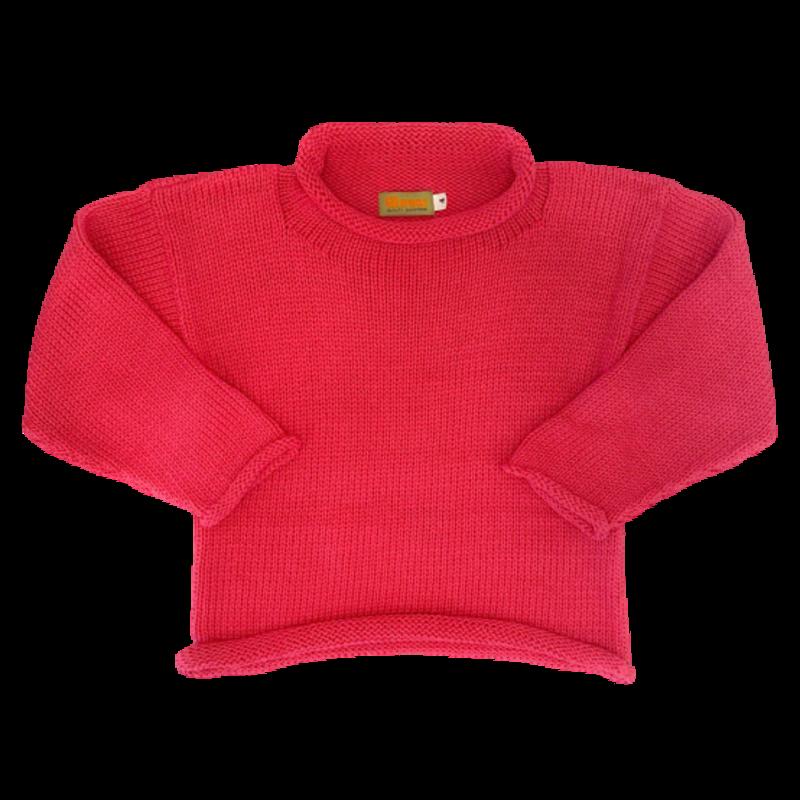 Luigi Luigi Hot Pink Sweater