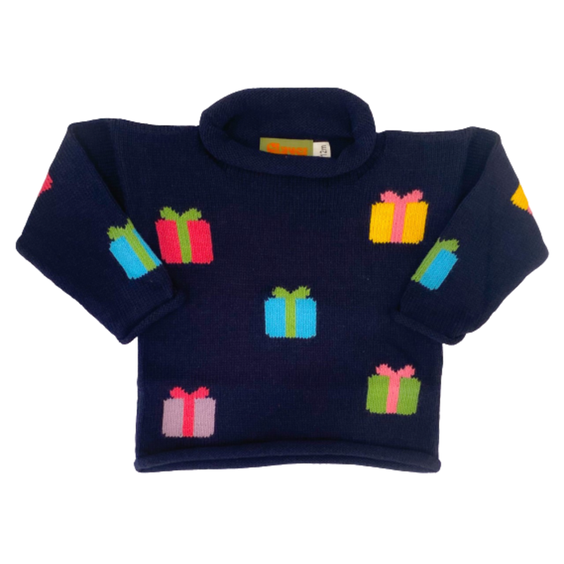 Luigi Luigi Multicolor Gifts Sweater