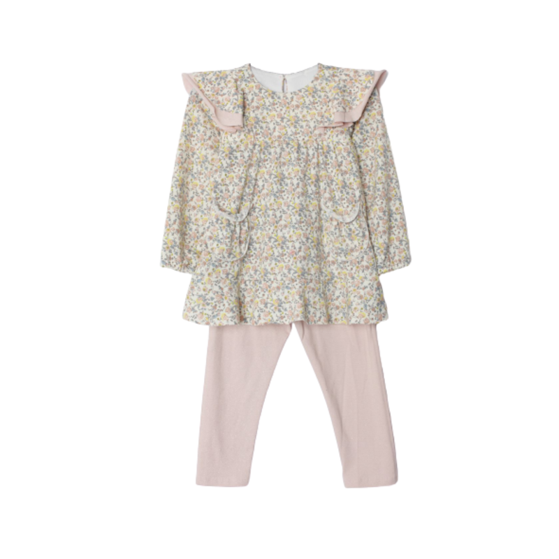 Isobella and Chloe Isobella and Chloe Multi Floral Everly After 2 Pc Set