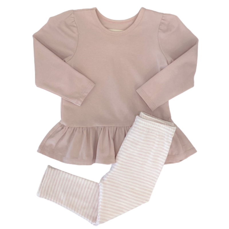 Mabel and Honey Pink Girl Power 2 Pc Set