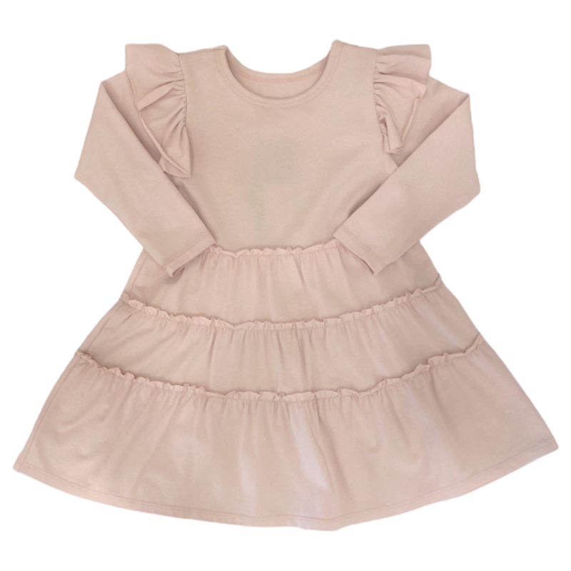 Mabel and Honey Mabel and Honey Pink Girl Power Dress