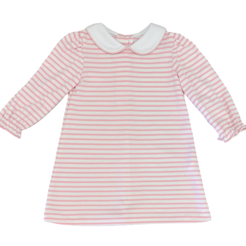 Zuccini Zuccini Pink Stripe Louisa Dress