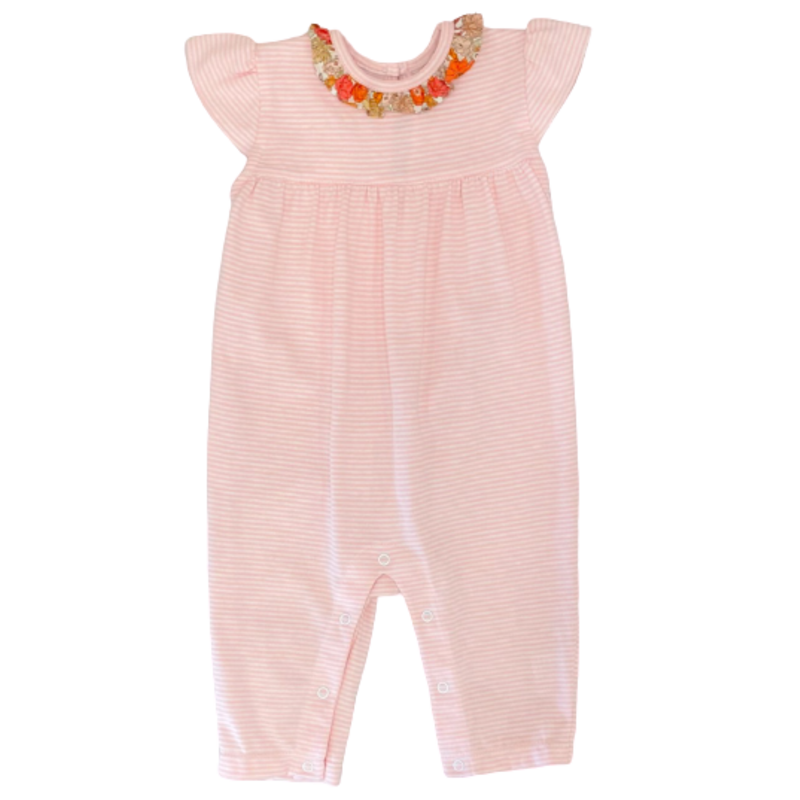 Peggy Green Peggy Green Cecily Romper Pink Candy