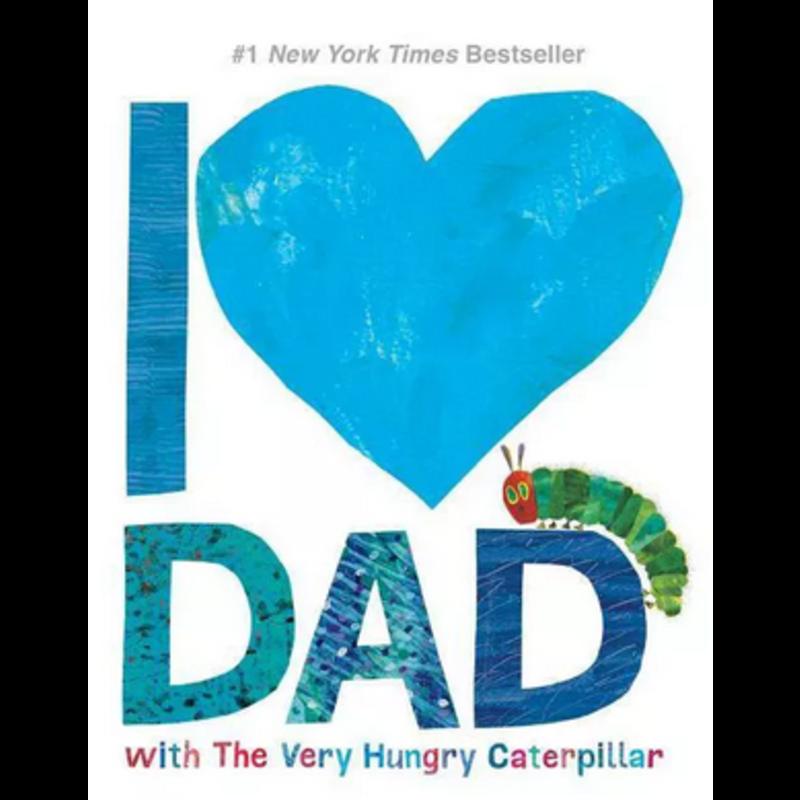 I Love Dad w/ Very Hungry Catepillar