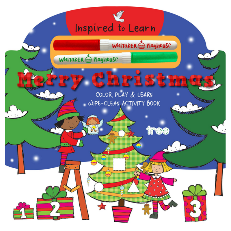 Merry Christmas Wipe Clean Activity Book