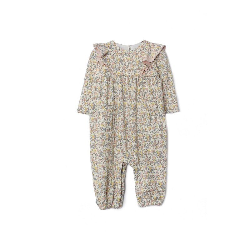 Isobella and Chloe Isobella and Chloe Multi Floral Everly After Romper