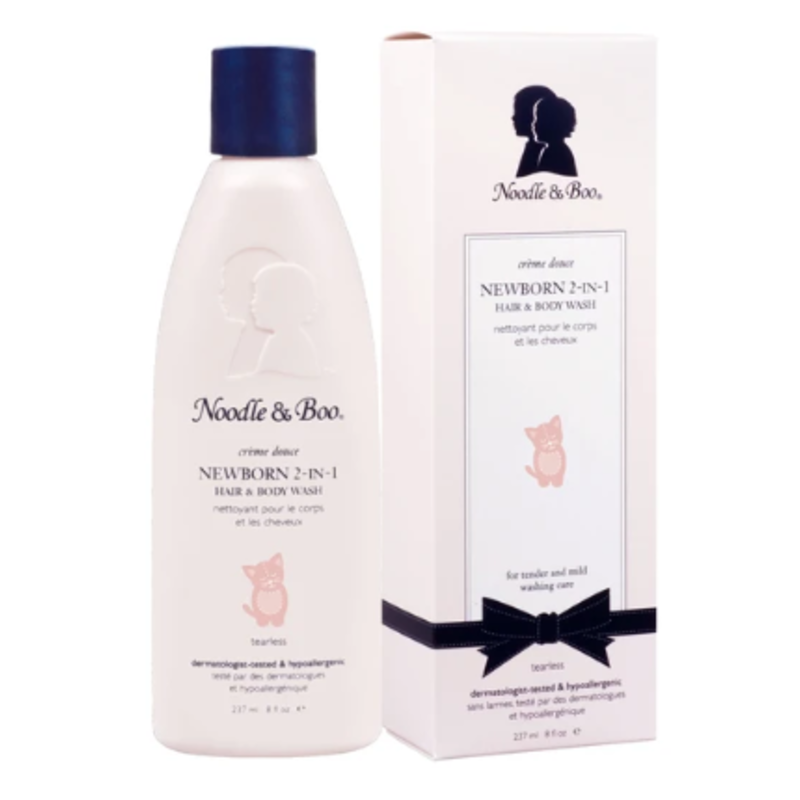 Noodle & Boo Newborn 2 in 1 Hair and Body Wash 8 oz