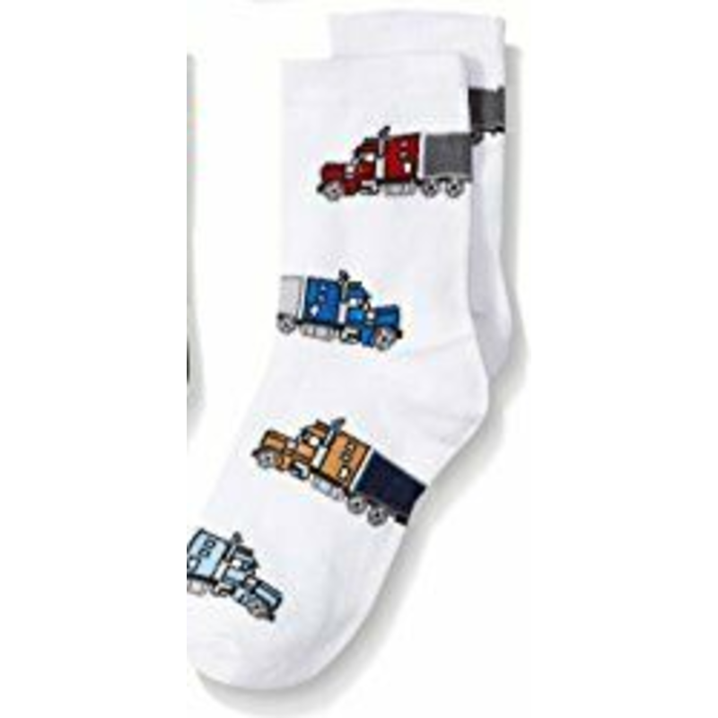 Jefferies Tractor Trailer Socks White