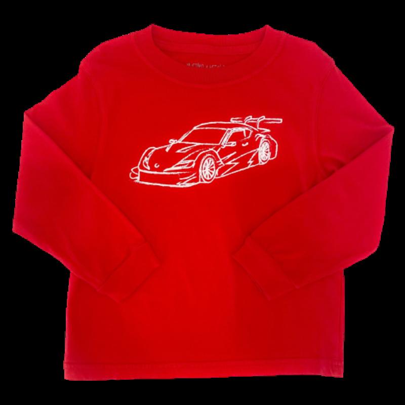 Mustard & Ketchup Mustard & Ketchup LS Race Car Red