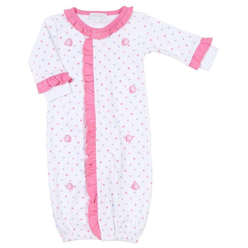 Magnolia Baby Magnolia Baby Lil' Sweetheart Scattered Ruffle Front Converter