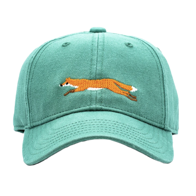 Harding Lane Harding Lane Kids Fox on Moss Green Hat