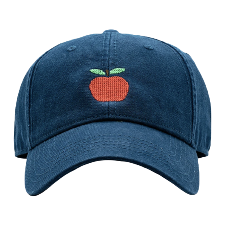 Harding Lane Harding Lane Kids Apple on Navy Hat