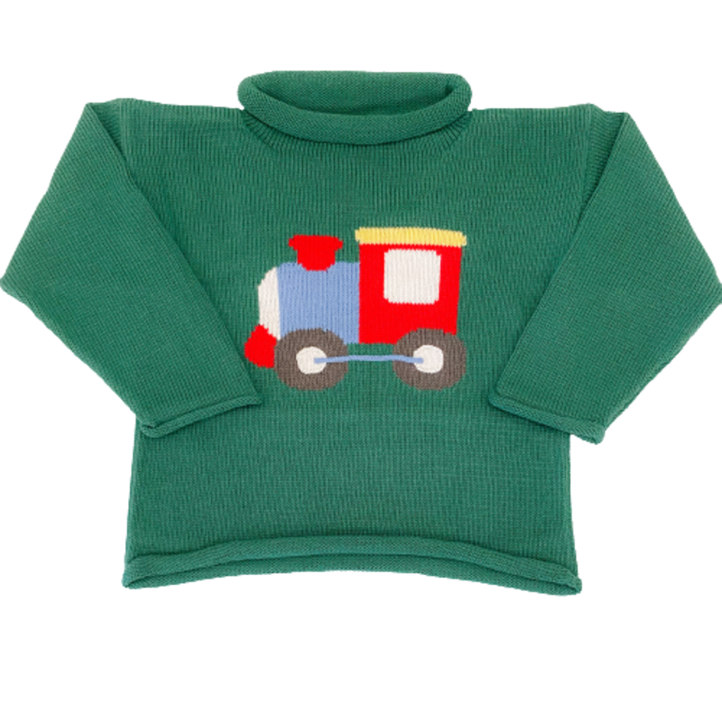 Luigi Luigi Train Engine Sweater