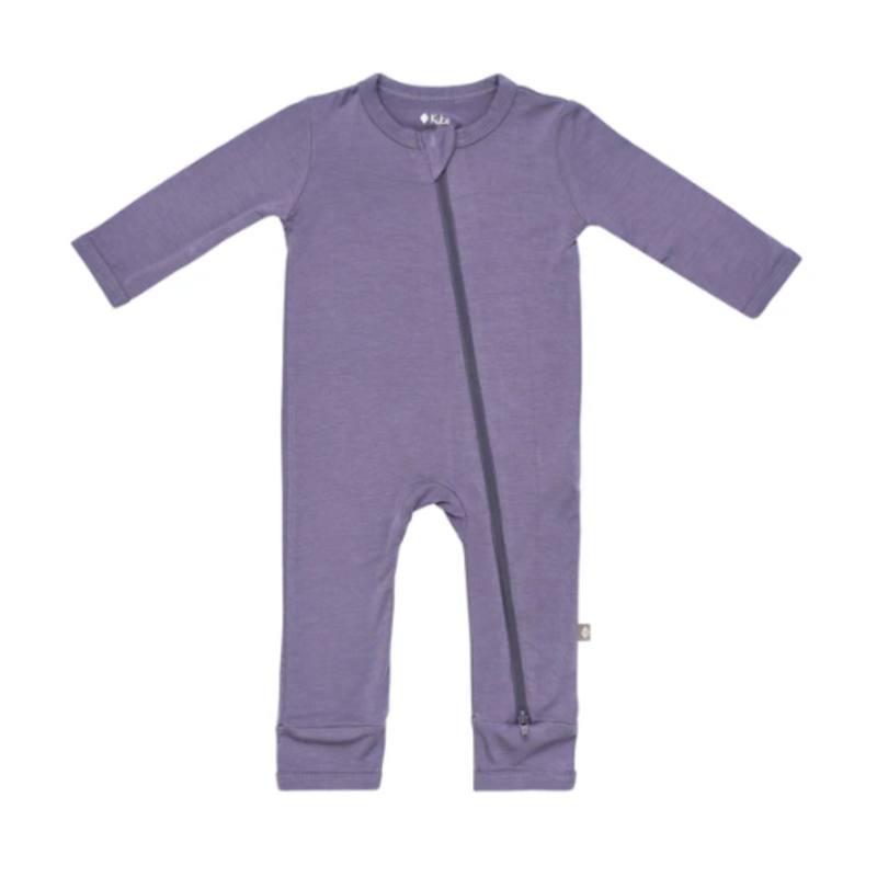 Kyte Baby Kyte Baby Zippered Romper in Orchid