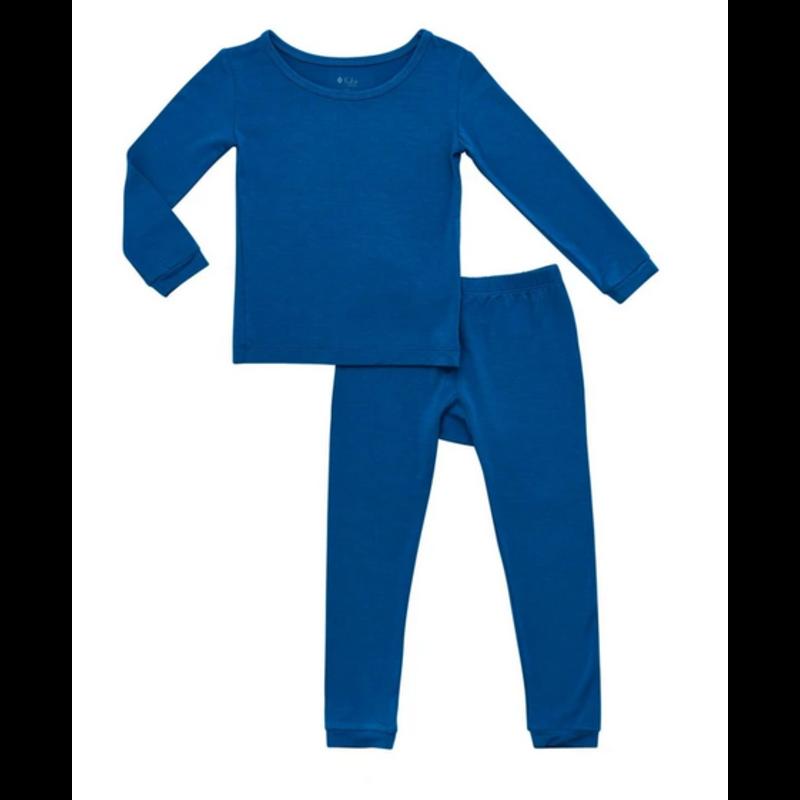 Kyte Baby Kyte Baby Toddler Pajama Set in Sapphire