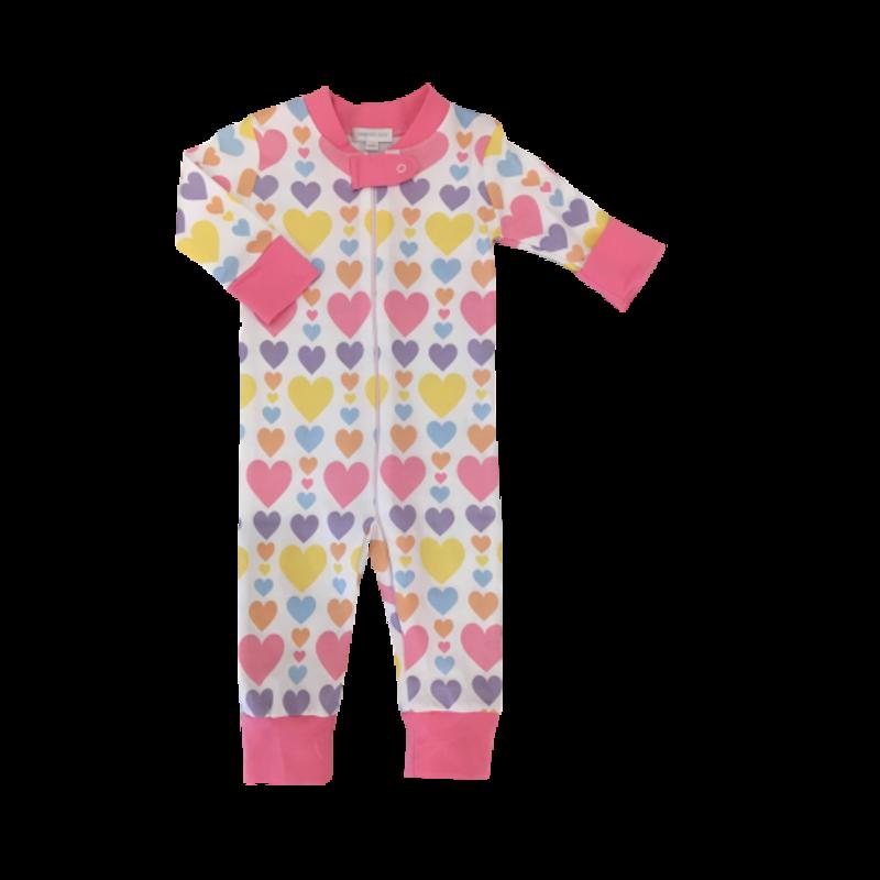 Magnolia Baby Magnolia Baby My Heart Zipped Pajama