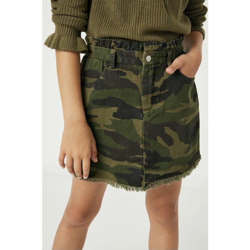 Hayden LA Hayden Girl Camoflauge Skirt