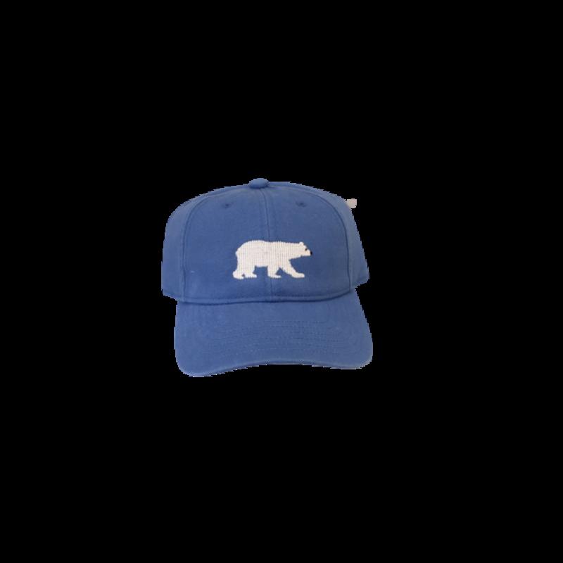 Harding Lane Harding Lane Kids Polar Bear on Light Blue Hat