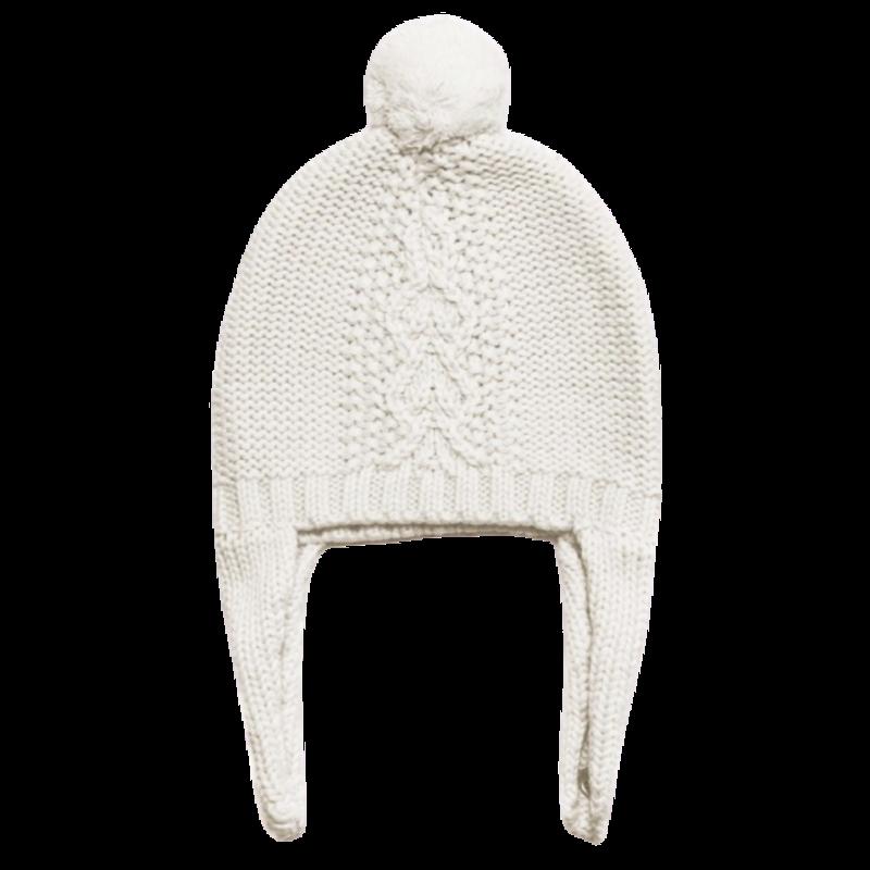 Angel Dear Angel Dear Ivory Hat