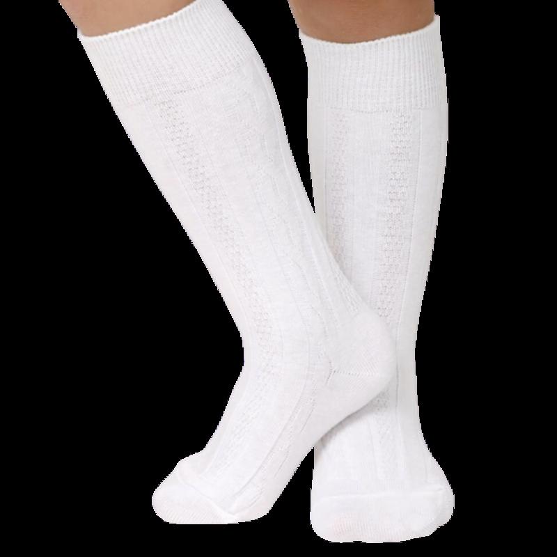 Jefferies Socks Cable Knit Knee High Socks