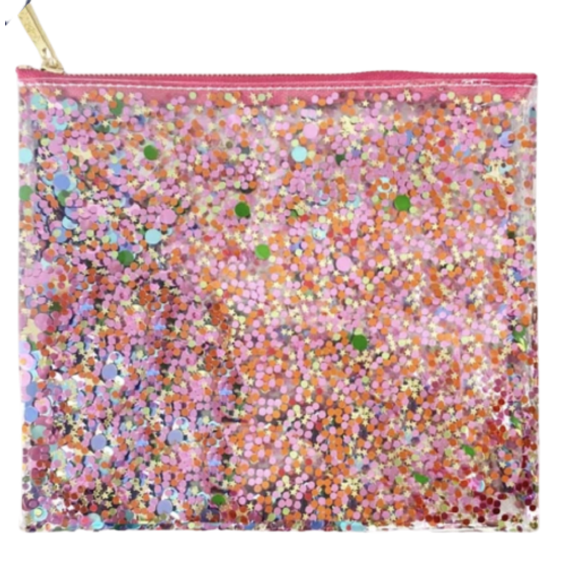 Packed Party Spiced Girl Confetti Everything Pouch