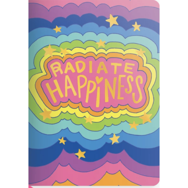 Ooly Ooly Jot-it! Notebook: Radiate Happiness