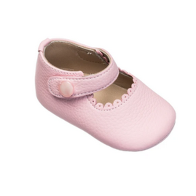 Elephantito Elephantito Infant Mary Jane - Light Pink