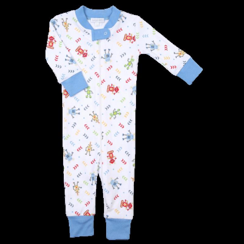 Magnolia Baby Magnolia Baby Lil' Robot Zipped Pajama