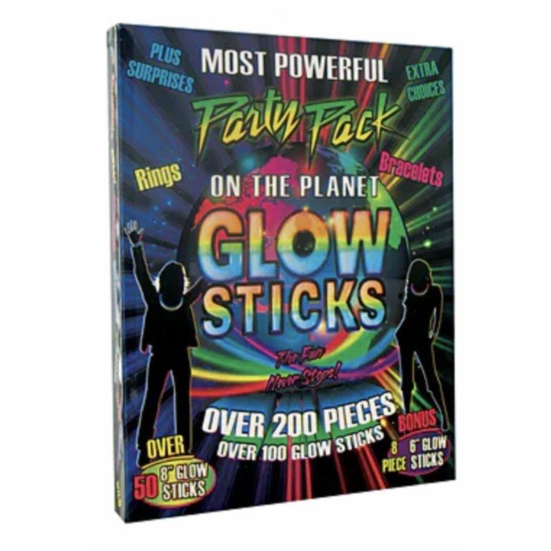 Glow 200 Plus Glow Sticks