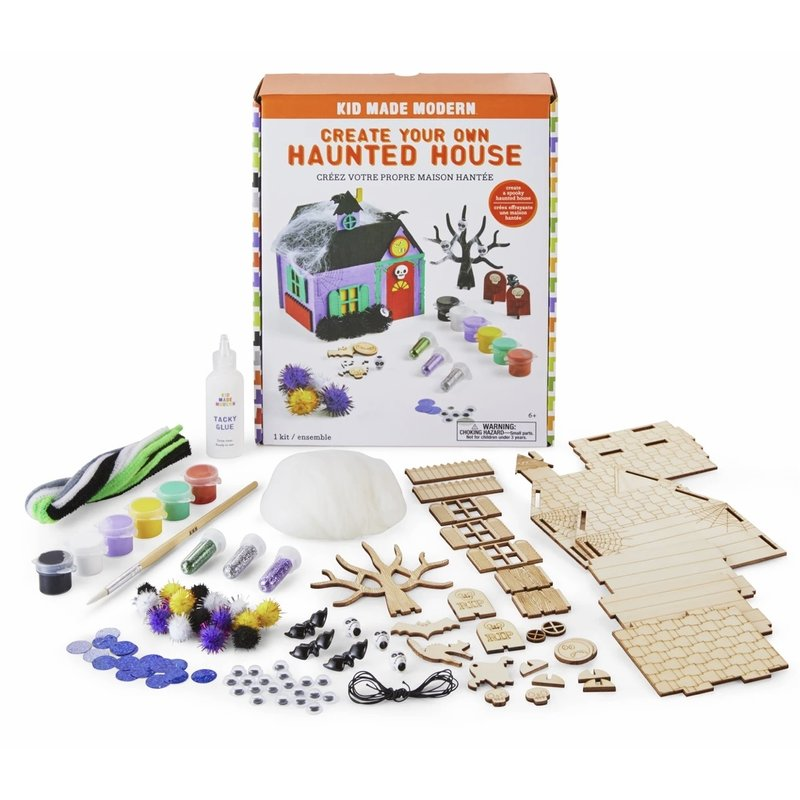 Kid Made Modern Create Your Own Haunted House Kit