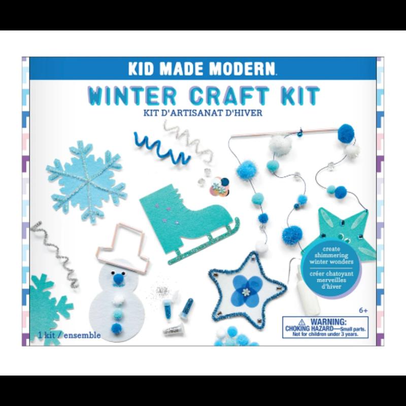 Kid Made Modern Winter Craft Kit