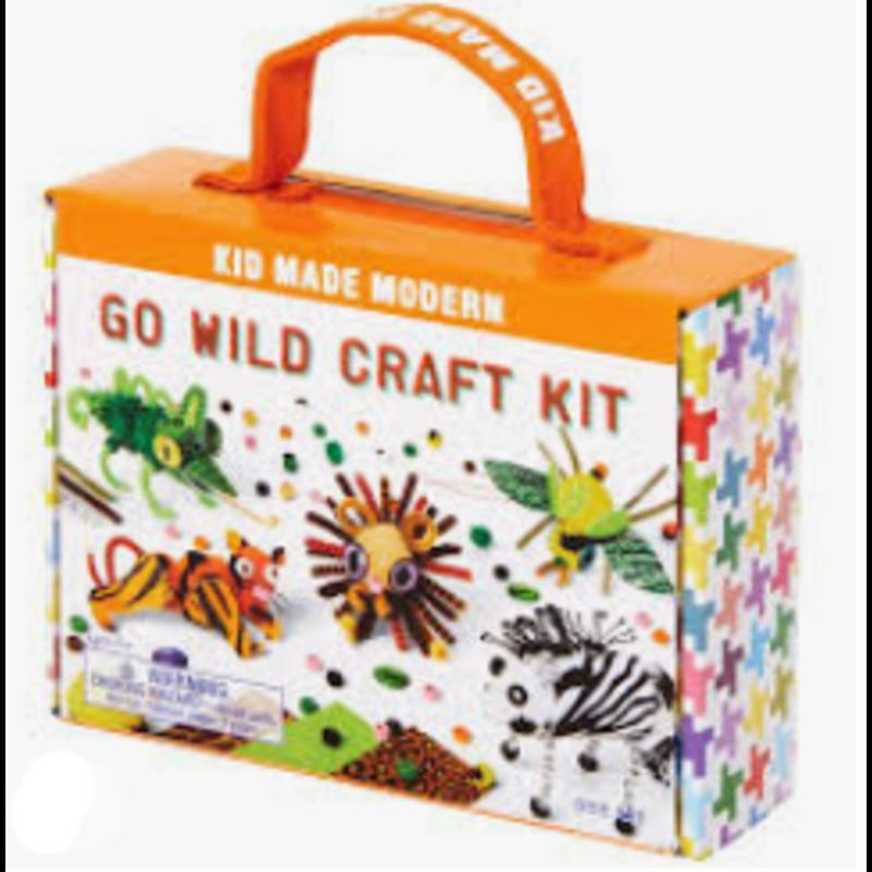 Kid Made Modern Kid Made Modern Go Wild Craft Kit