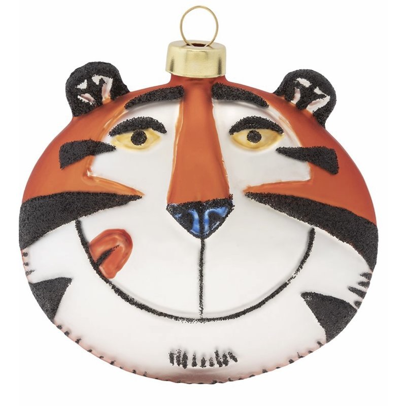 Kat and annie Kat and Annie Kellogg's Tony The Tiger Ornament