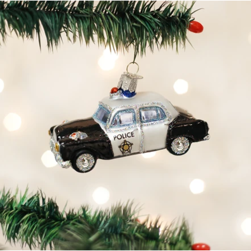 Old World Christmas Old World Christmas Police Car Ornament