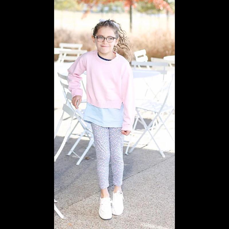SET Athleisure SET Athleisure Pink Stella Sweater